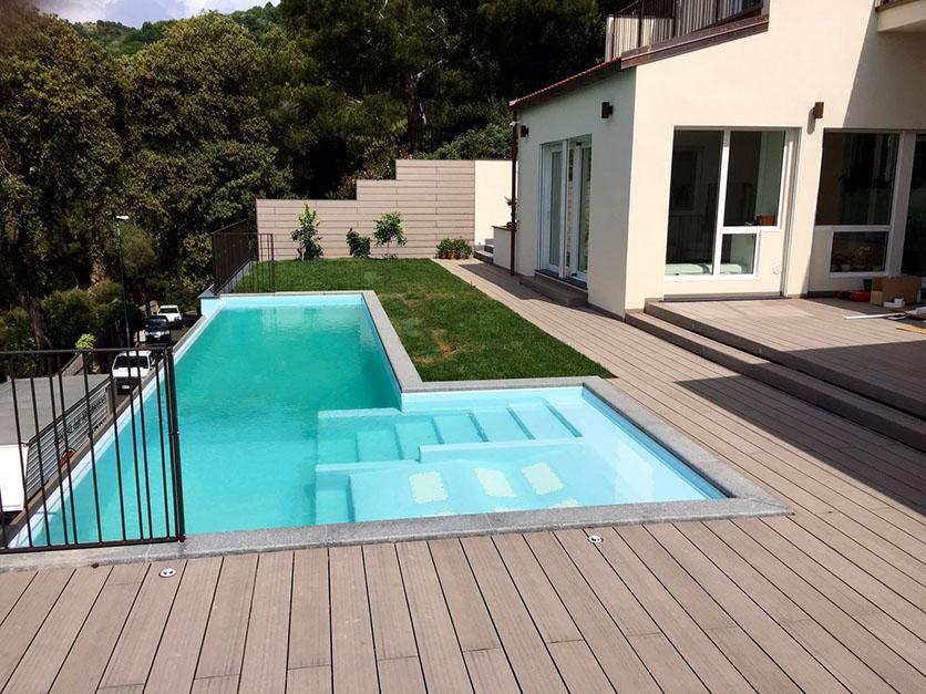 02. Villa, ampliamento volumetrico con piscina