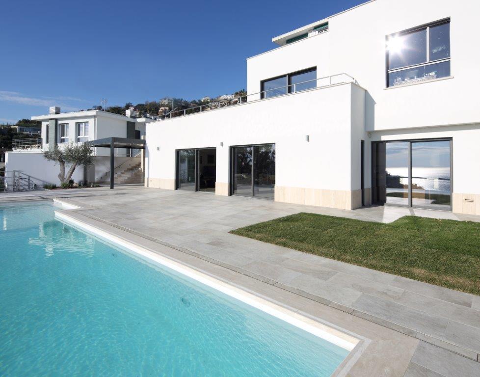 03.  Nuova costruzione villa monofamiliare in Albissola Marina